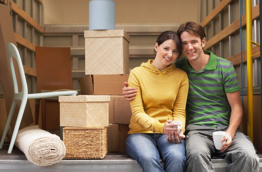 Couple moving across the country